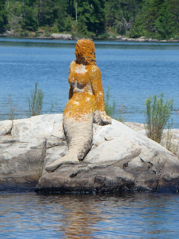 The 'Mermaid' Of Rainy Lake