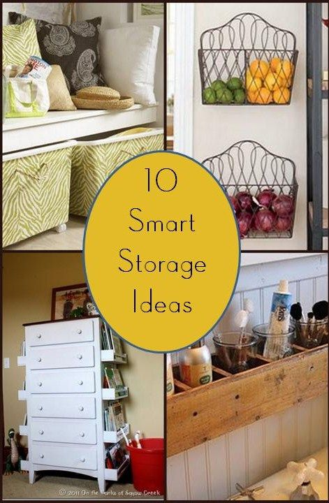 Home Made Modern: 10 Smart Storage Ideas--Turning ordinary storage items into super-duper cuteness!