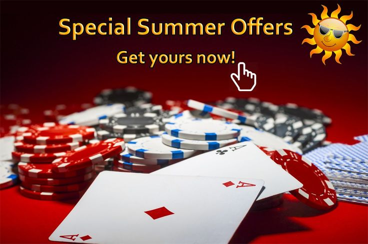Let's enjoy some summer offers! #Gambling #OnlinePoker #PokerSites