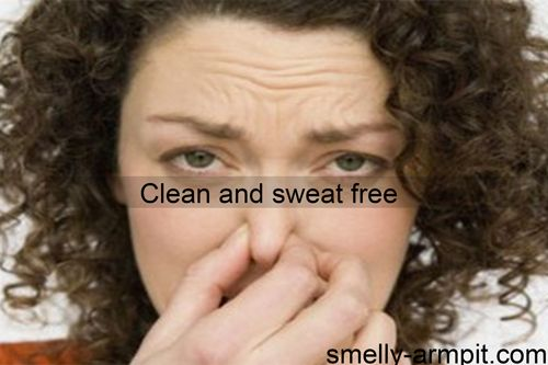 how to stop smelly armpits naturally