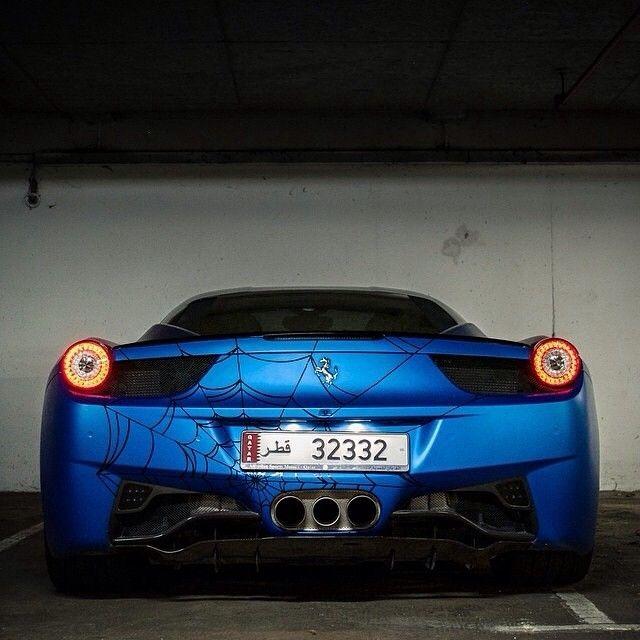 #Ferrari458 #Car Vehicle registration plate, #LuxuryVehicle #Ferrari Bumper, Automotive design, Automotive lighting - Follow @extremegentleman for more pics like this!