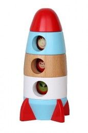 Discoveroo - Magnetic Stacking Rocket Shop Online - iQToys.co.nz
