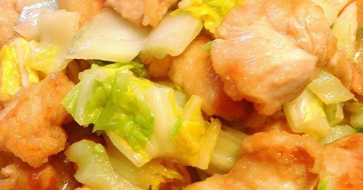 簡単!トロッと柔らか鶏胸肉と白菜の中華煮 by まこりんとペン子 [クックパッド] 簡単おいしいみんなのレシピが236万品