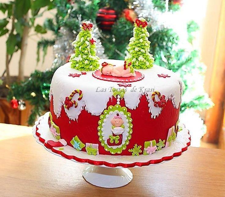 christmas baby cake - Cake by Cake boutique by Krasimira Novacheva