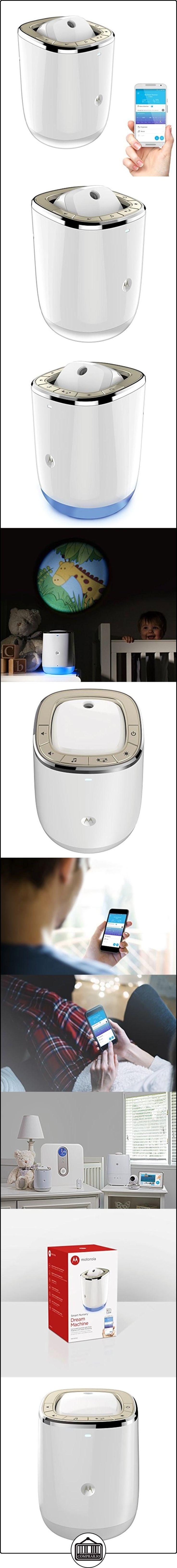Motorola Smart Nursery Dream Machine-Proyector de luces y sonidos conectable con Monitoreo Audio-blanco  ✿ Vigilabebés - Seguridad ✿ ▬► Ver oferta: http://comprar.io/goto/B01MF9Y4W3