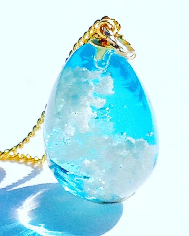 "[★ PSYCHE ☆] the smallest blue sky necklace in the world ""re-sales"""