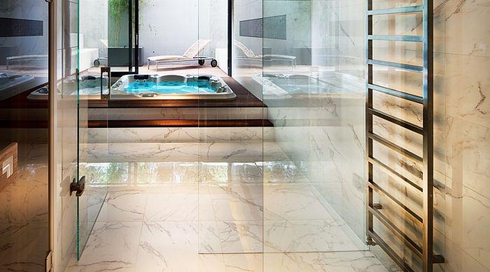 Wanna Spa DELPHINA. Idealna inspiracja łazienki lub ogrodu. Luksusowe wanny masażowe