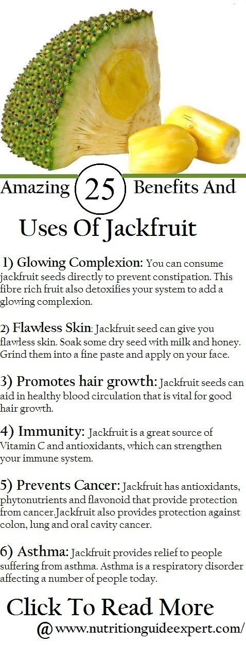 25 Amazing Benefits And Uses Of Jackfruit Pinterest