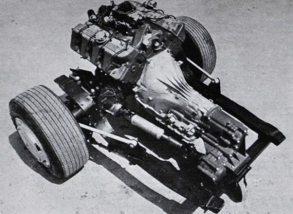 1969 Mustang LID drivetrain