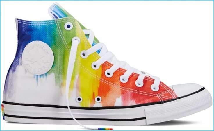 Converse Chuck Taylor All Star Pride Gradient Rainbow Sneakers
