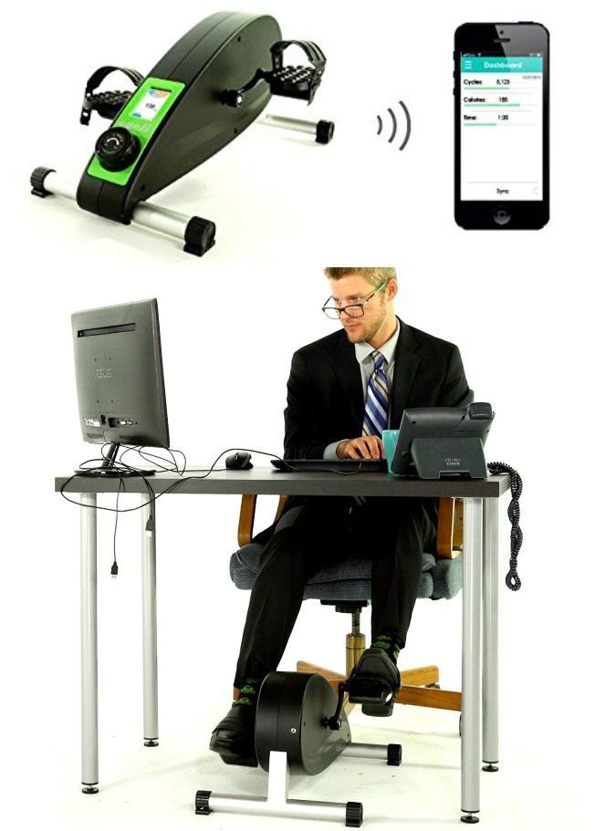 Cycli Under Desk Cycle With Bluetooth Desk Workout Desk Biking Workout