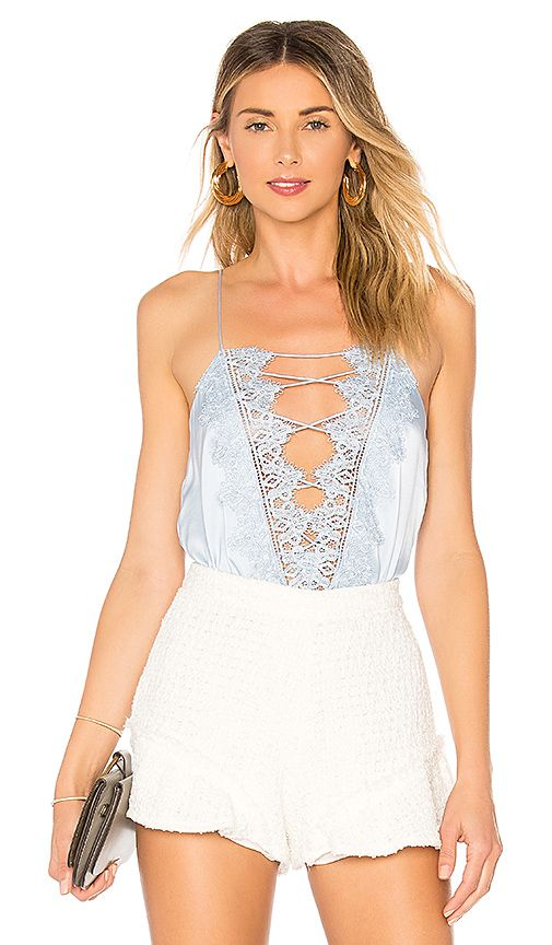 094f1a26953 The Charlie Charmeuse Cami in Powder Blue