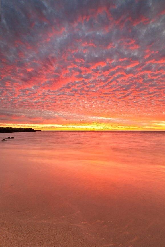 osprey bay sunset, cape range national park, western australia - the most amazing sunset in 5 weeks xxx