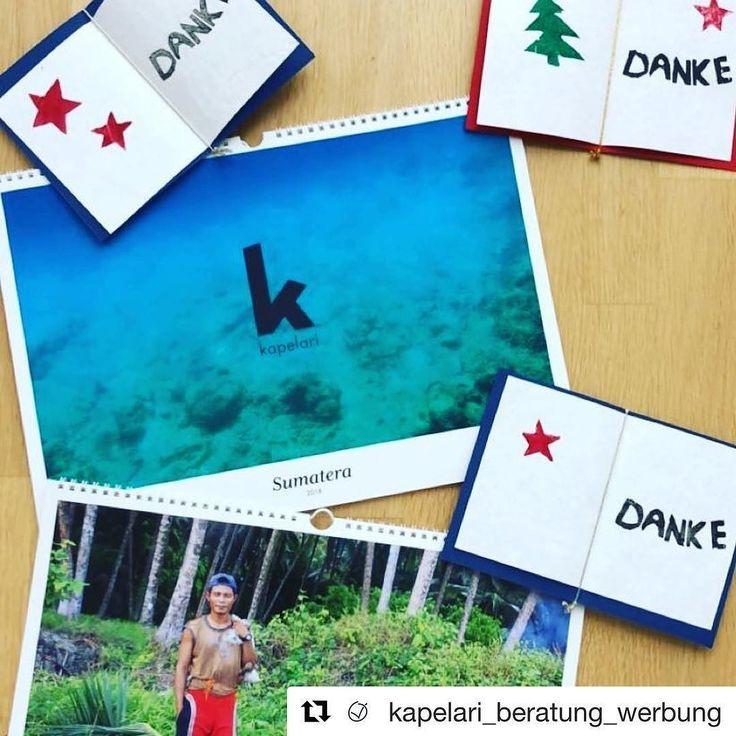 Das diesjährige Weihnachtsgeschenk von @kapelari_beratung_werbung: Ein wunderschöner Kalender mit 13 Fotos meiner Sumatra (indonesisch Sumatera) Reise letzten Sommer.  #kalender #stolzbin #kalender #2018 #2018kannkommen #fotokalender #reisefotografie #travel  Weihnachtspost vorm Aufbruch... Vielen Dank an unsere Kunden und Geschäftspartner! Wir freuen uns auf ein tolles Jahr 2018  #thankyou #danke #weihnachtspost #weihnachten #mailing #weihnachtsmailing #christmasmail #2017 #kalender…