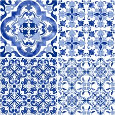 MILAN | CHINOISERIE | Face 1 | 40x40 |   Wall & Floor Tile