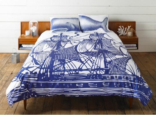 WhaleGuest Room, Beach House, Nautical Beds, Thomas Paul, Duvet Covers, Doces Paul, Ships Duvet, Whales Pillows, Thomaspaul