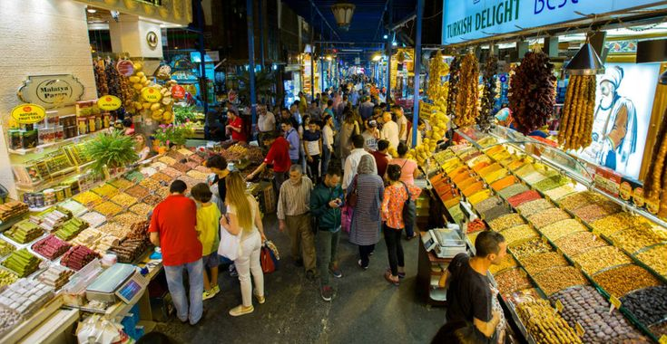 21. Grand Bazaar: The Grand Bazaar, one of the oldest covered markets in the world, is home to over 3,000 shops. If you can't find what you're looking for here...