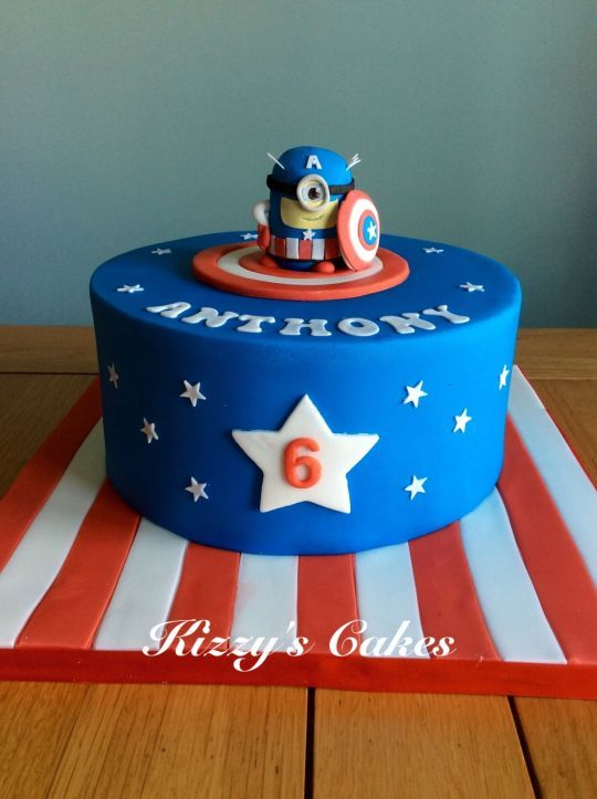 Best 25 Captain america cake ideas ideas on Pinterest Cake