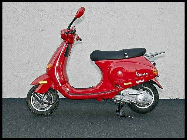 2004 Vespa ET4 150