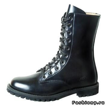 Как называются ботинки на шнуровке