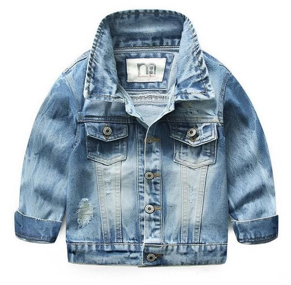 Blinged Rip denim Jacket