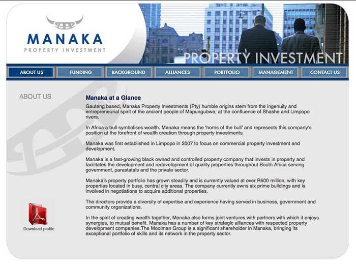 Manaka Website