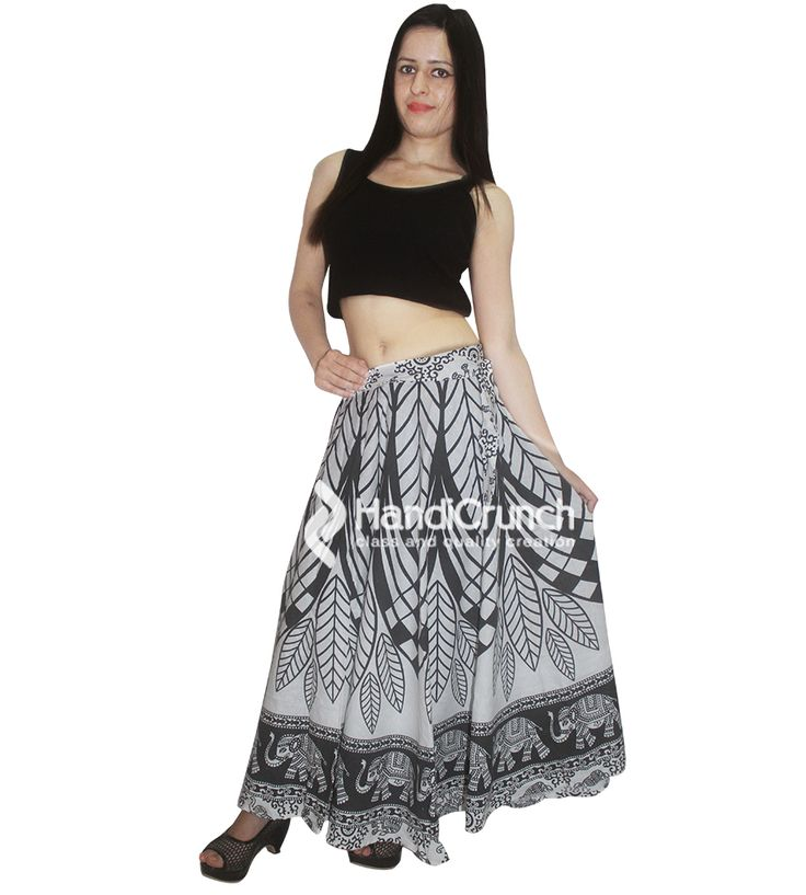Girls long skirt rapron for summer