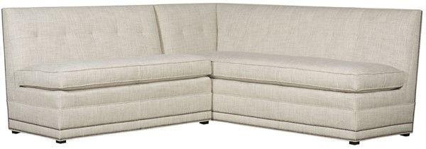 Vanguard Furniture: W754-LCS - Olmstead (Left Arm Corner Banquette)