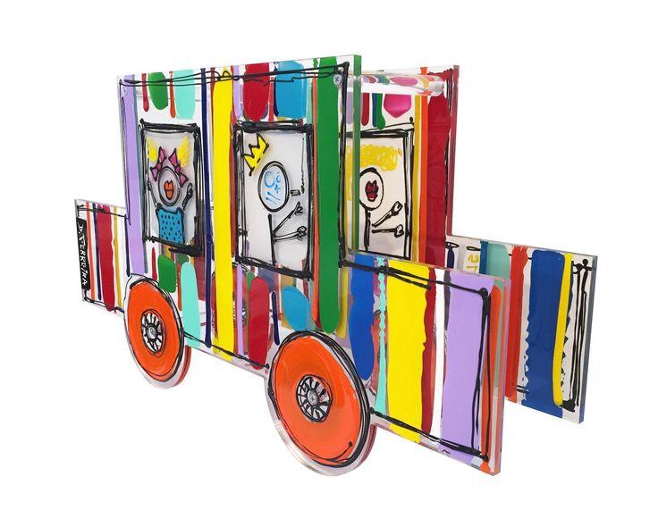 Totomobile, Plexiglas et Acrylique