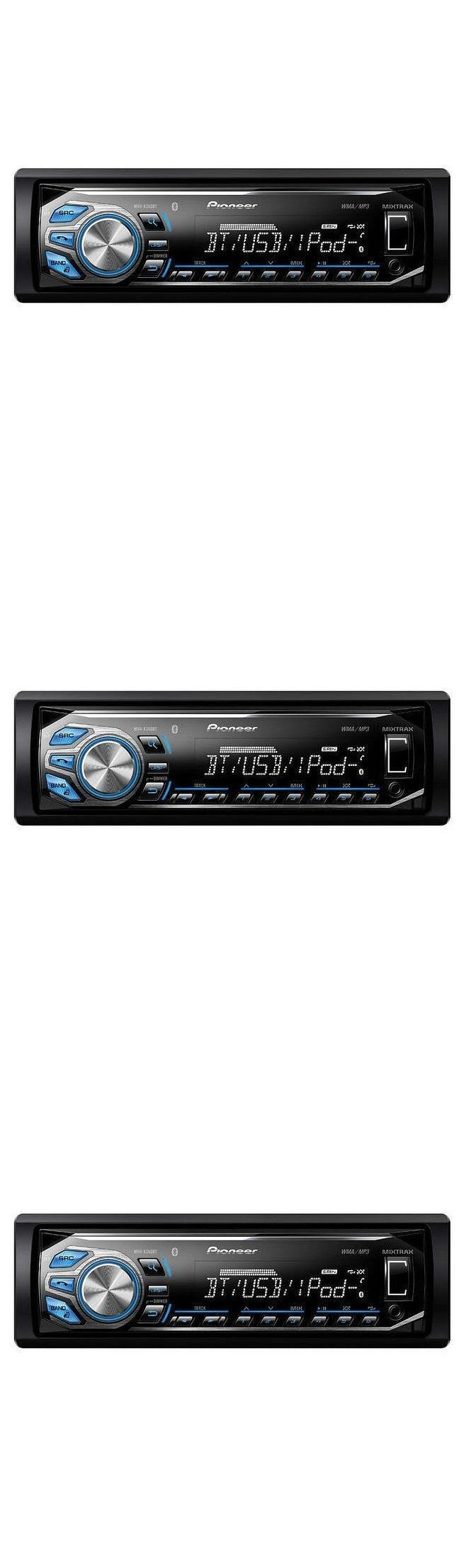 Car Audio In-Dash Units: Pioneer Car Stereo Head Unit Aux Usb Mp3 Bluetooth Radio Digital Media Player BUY IT NOW ONLY: $79.95