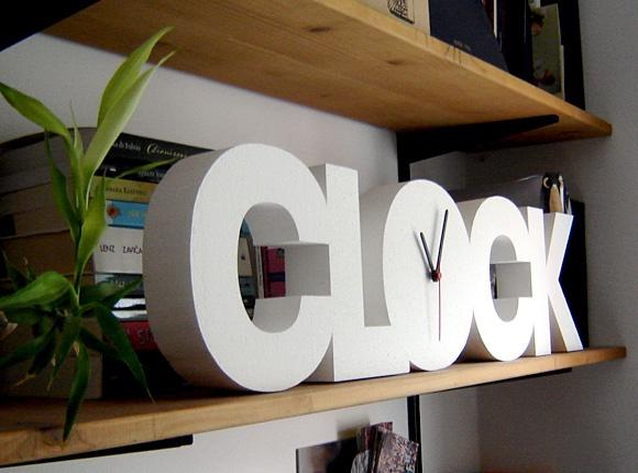 CLOCK Styrofoam 3D Clock
