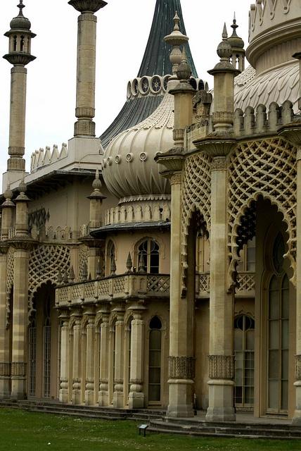 The Royal Pavilion, Brigton  [West Side]..........via mahala knight