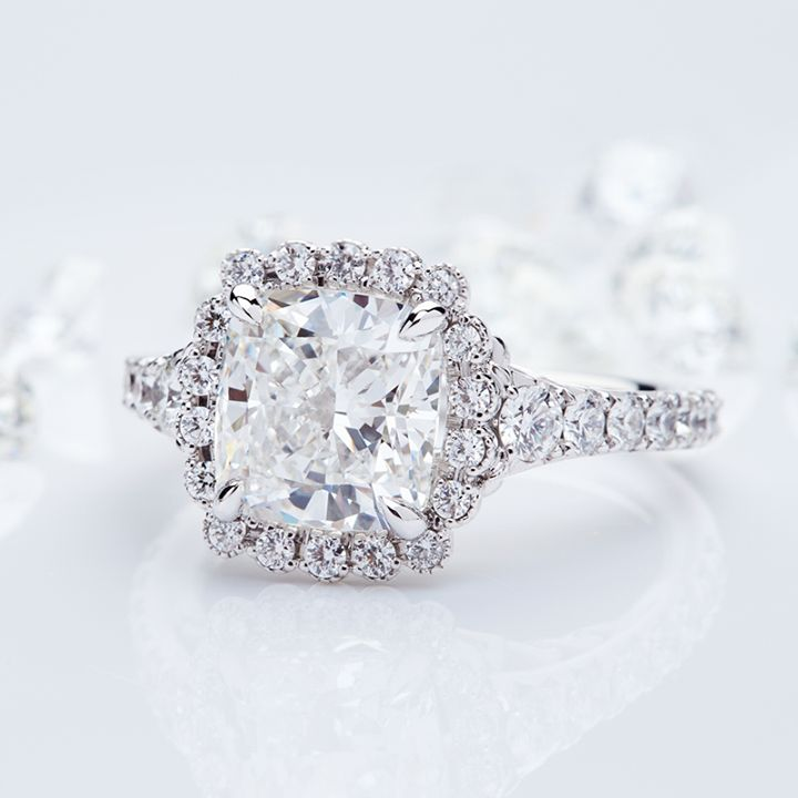 Mustering up the courage to ask an important question? Start your LOVE STORY with our natural, untreated diamonds that are responsibly mined in Canada. #engagementring