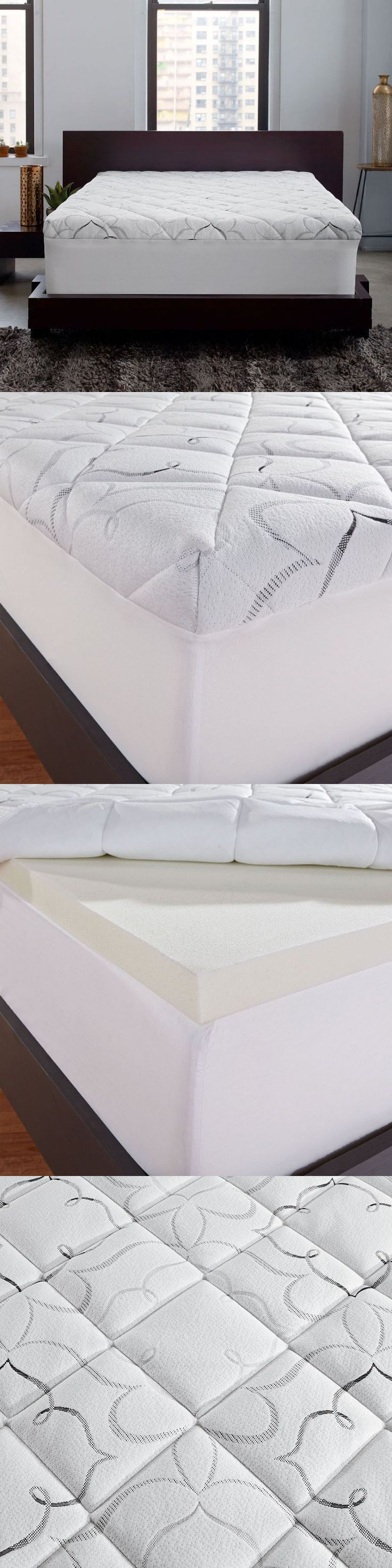 Mattress Pads and Feather Beds 175751: Instant-Pillow-Top-Memory-Foam-And-Fiber-Hybrid-Mattress-Topper Queen -> BUY IT NOW ONLY: $164.95 on eBay!