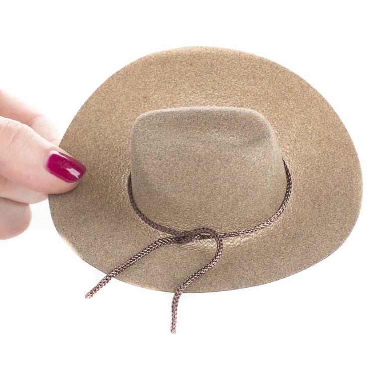 120 best barbie hats images on pinterest barbie for Tiny cowboy hats for crafts
