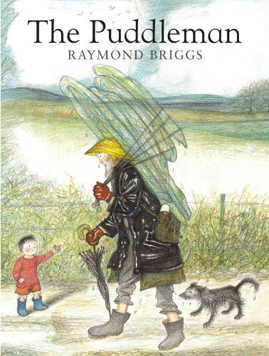 The Puddleman by Raymond Briggs http://www.amazon.co.uk/dp/0099456427/ref=cm_sw_r_pi_dp_SCo2ub1NE73J4