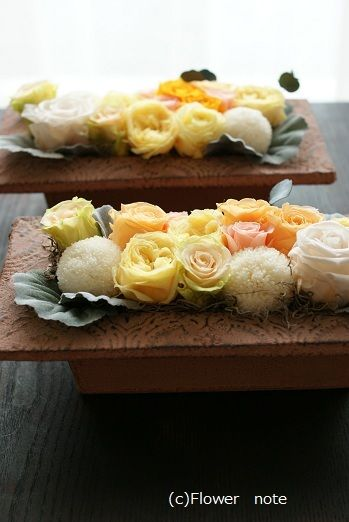 『開店祝いのフラワーギフト』 http://ameblo.jp/flower-note/entry-10965445447.html