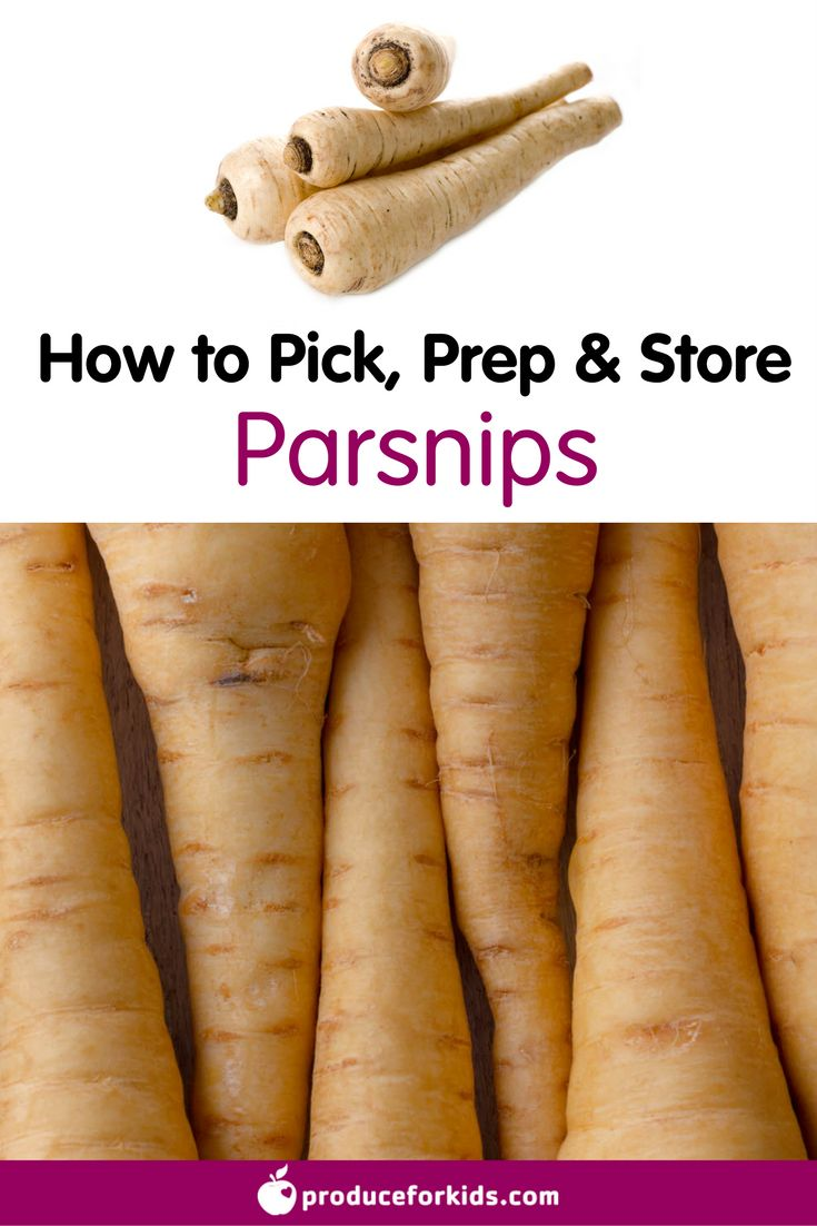 How to Pick, Prep & Store Parsnips + nutrition information, recipes, fun facts and more!