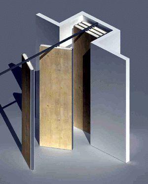 Las 25 mejores ideas sobre paneles ac sticos en pinterest - Tabiques divisorios moviles ...