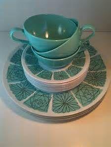 atomic pattern melmac dinnerware - Bing images
