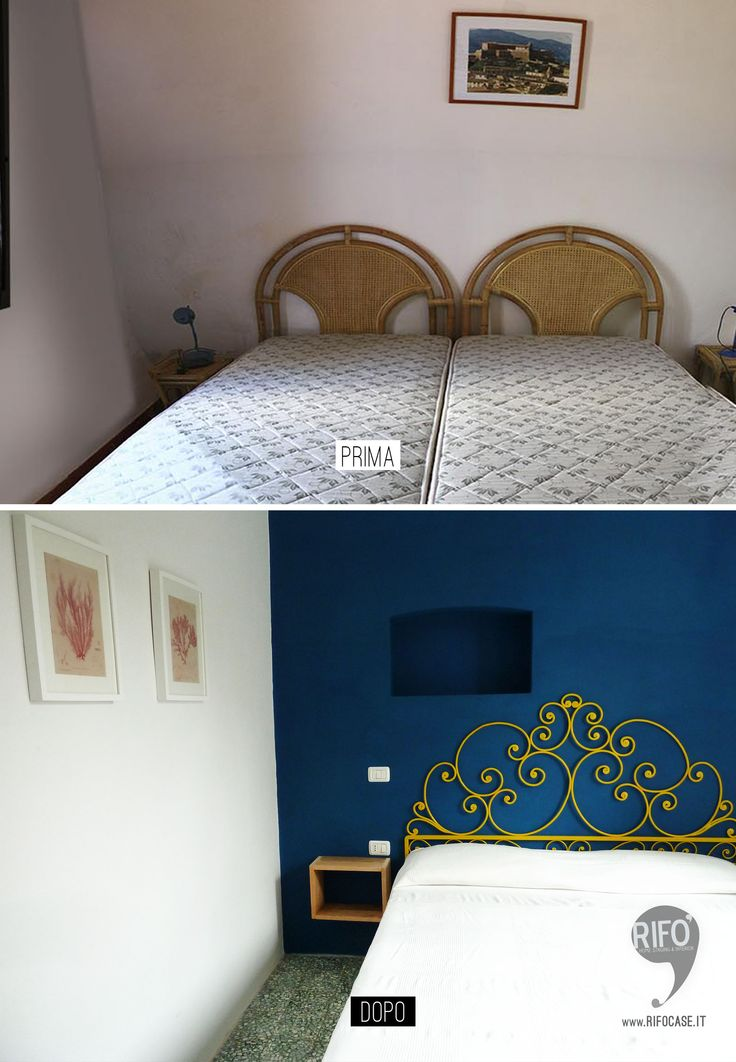 home Relooking camera matrimoniale casa al mare  PRIMA E DOPO // home Relooking bedroom beach house BEFORE AFTER