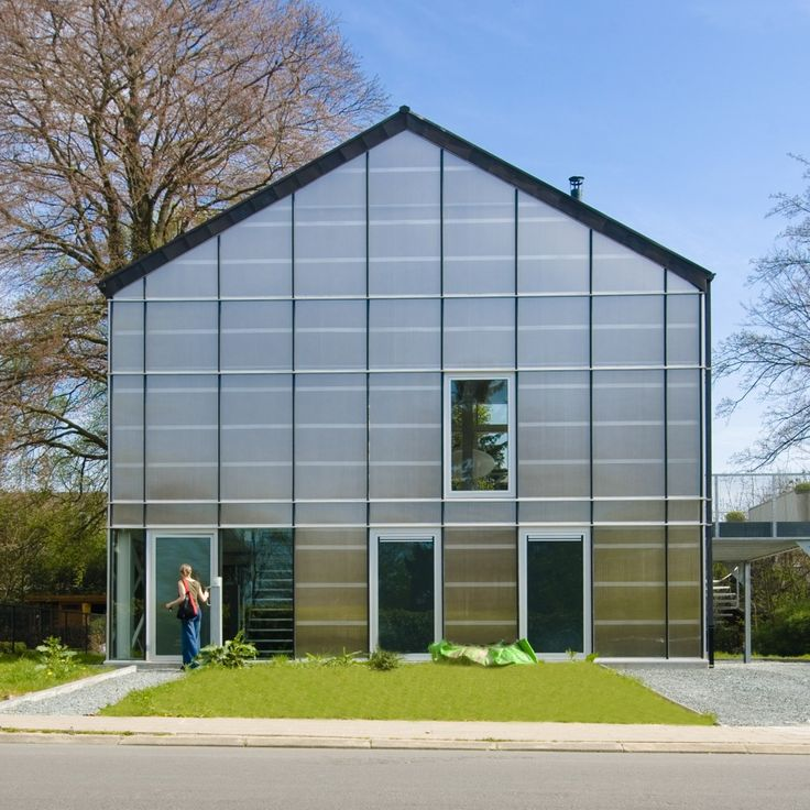 Belgian Greenhouse Has Super Insulating Glass And