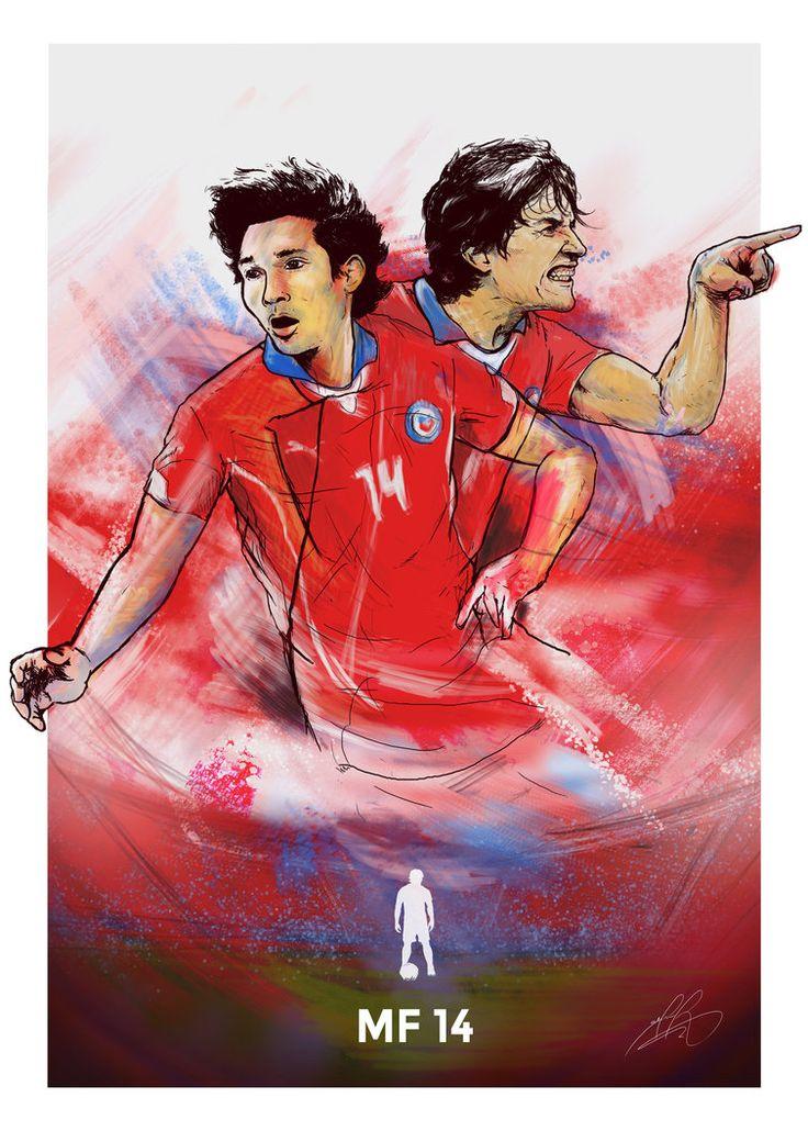 Please! Help me voting for my Illustration Video, it's just a few second:  https://www.algoqueensenar.cl/concurso/103/sergio-perez-roa Thanks!  Matias Fernandez  - Copa America 2015 by wafspr.deviantart.com on @DeviantArt