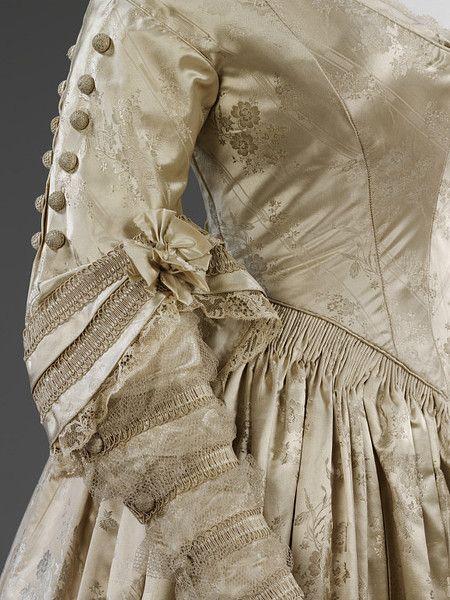Wedding dress, 1841