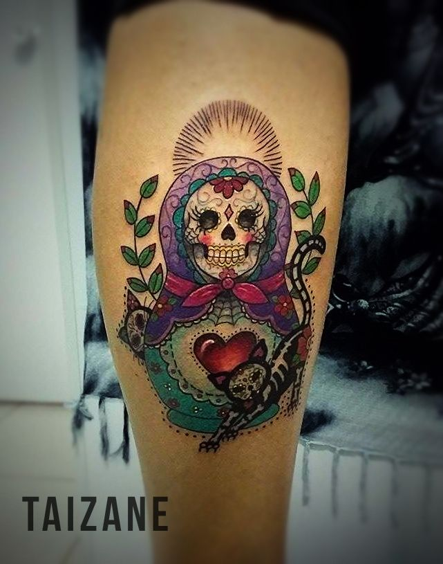 25 best ink images on pinterest matryoshka doll russian for Electric ink tattoo