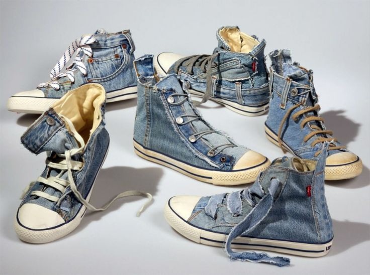 Image result for denim repurpose shoes