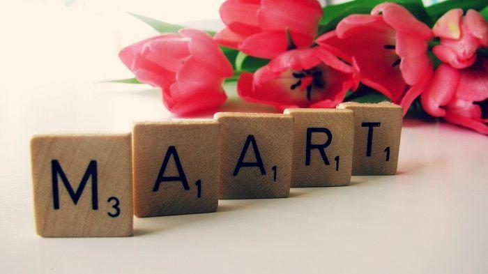 Maart….nieuwe maand, nieuwe doelen. – Simpel, met een snufje liefde