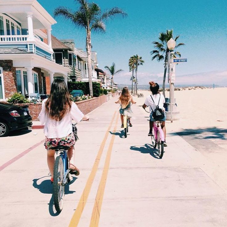 Cruise the Strand in Manhattan and Hermosa.