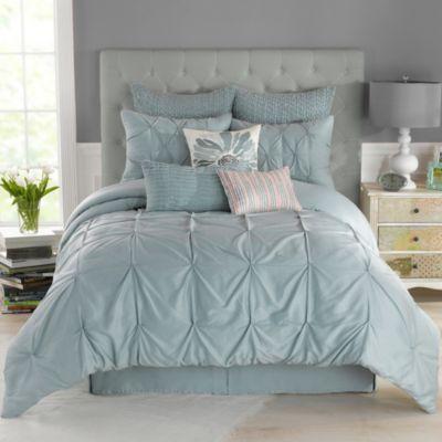 Anthology™ Whisper Comforter Set in Spa - BedBathandBeyond.com