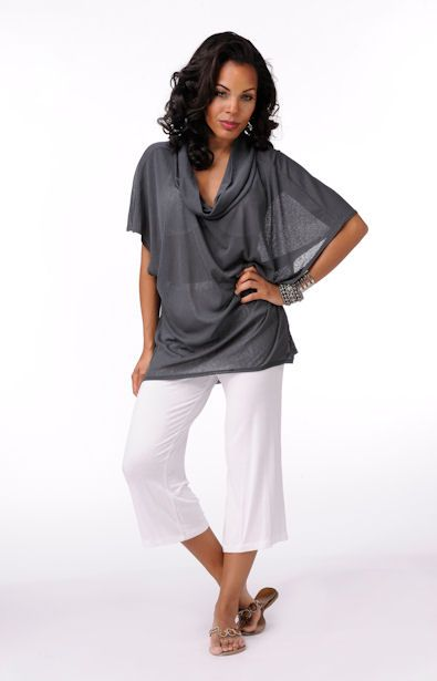 Elegantly Styled Cowl Neck Top  Price: $34.99